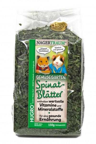 Nagertraum Spinatblätter
