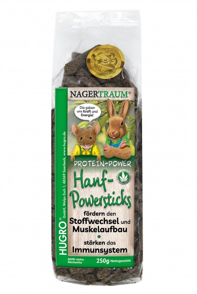 Nagertraum Hanf-Powersticks
