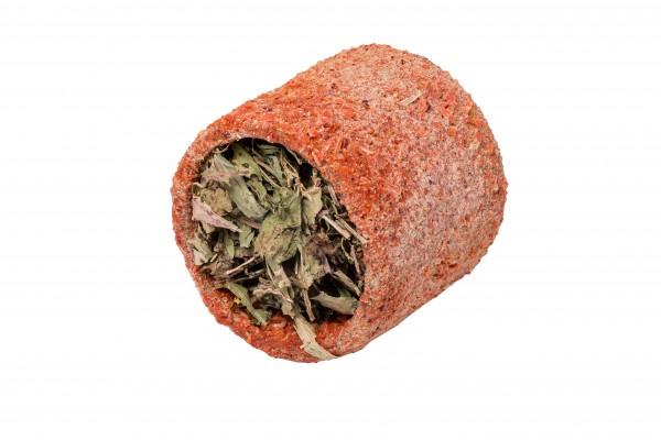 Karottenrolle mit Kornmix und Brennessel